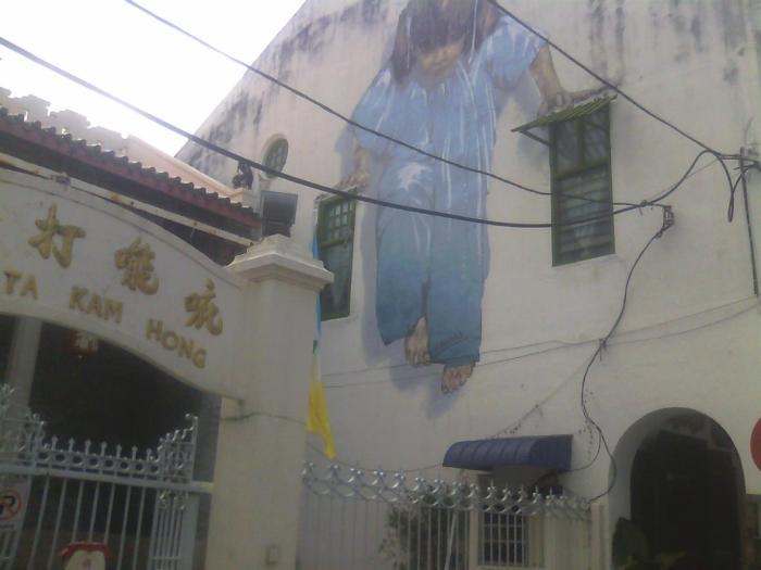 George Town Street Art,Malaysia