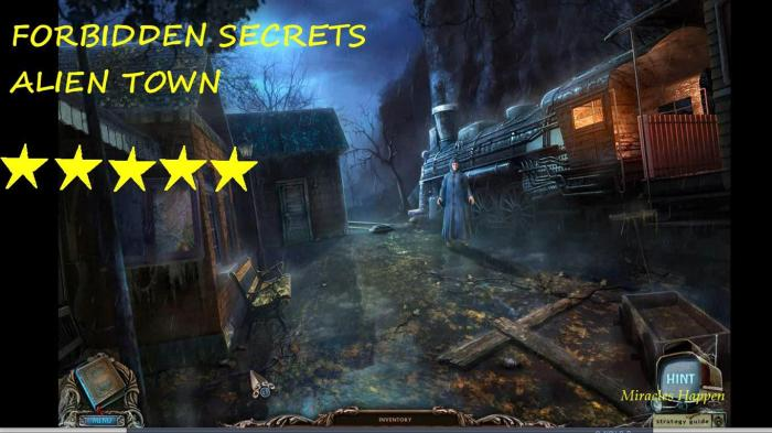 FORBIDDEN SECRETS – ALIEN TOWN