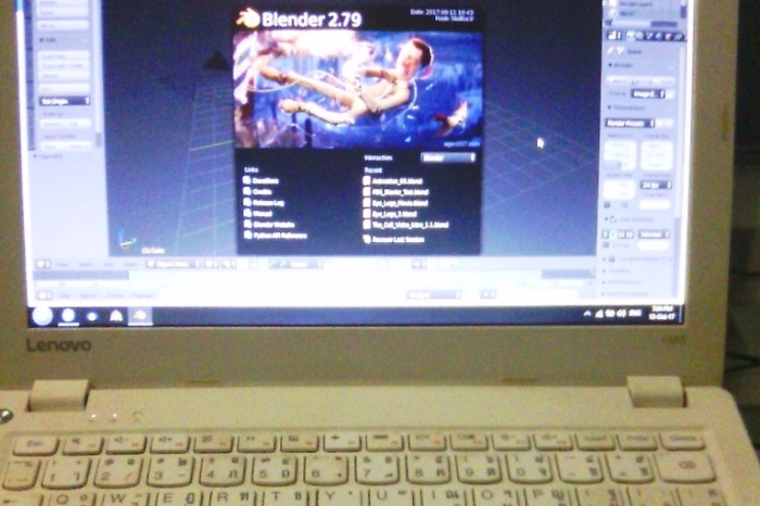 How to use Blender Cycles on a Lenovo Ideapad 100S