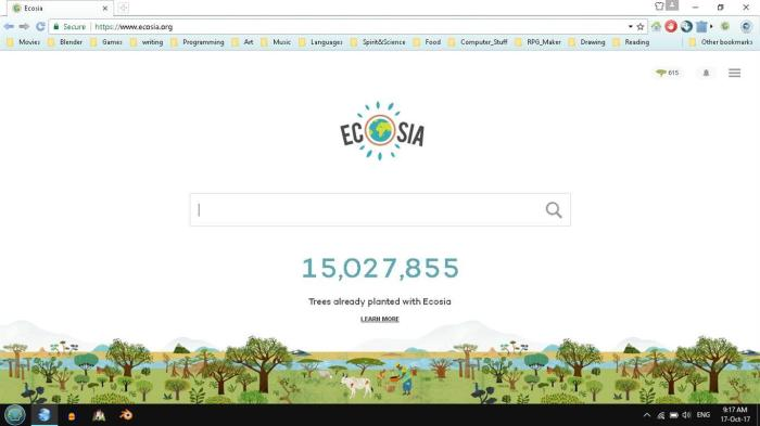 ECOSIA : the ecological search engine