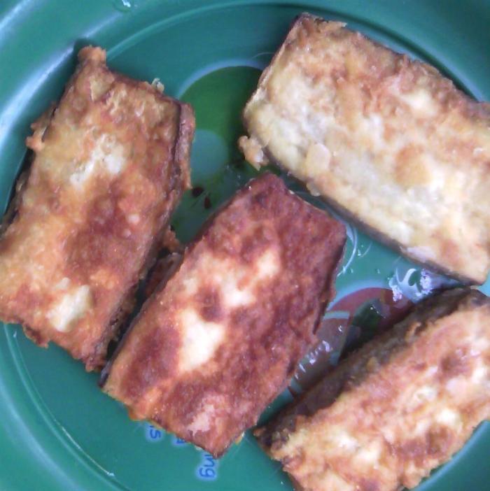 Vegan Melanzane Impanate
