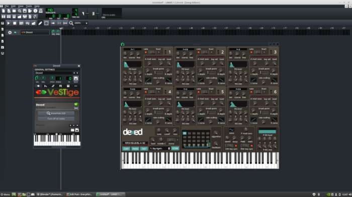 How to use Windows Vst Instruments and Plugins inLinux.