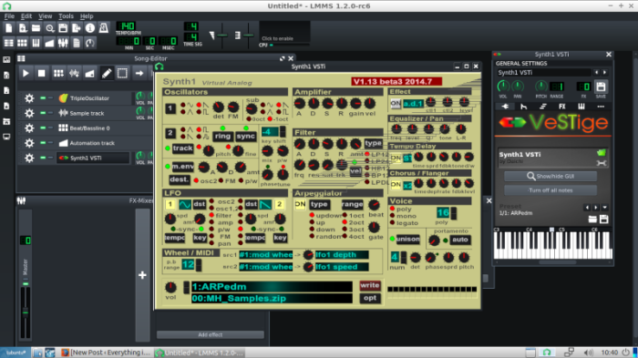 Free Vst Presets for Synth1