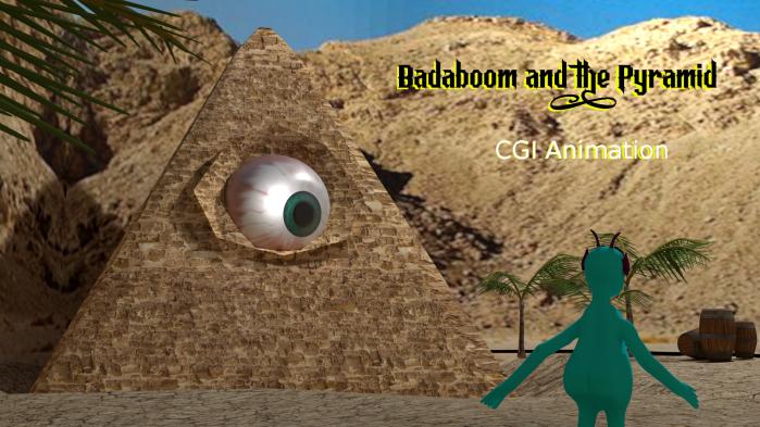 Badaboom and the Pyramid: Blender CGIAnimation