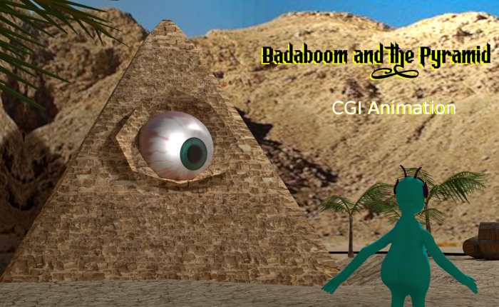 Badaboom and the Pyramid: Blender CGI Animation